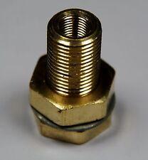 Brass Fittings: Bulkhead Coupling, Fem. Pipe 1/8, Male Thread 5/8-18, QTY. 25