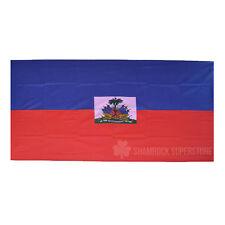 HAITI STATE FLAG - NEW 5 x 3 FT - LARGE
