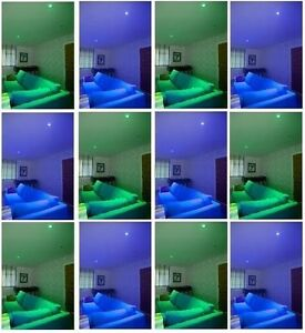 LIGHTING EFFECT COLOUR FILTER GEL CHANGE COLOUR LED HOME GARDEN LIGHTS 24cm x 24