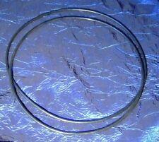 3 x NUOVA piatto smorzamento ANELLI/FASCE PER GIRADISCHI. migliorare il suono