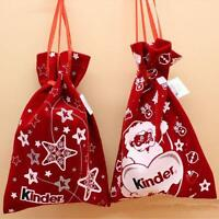 New Year Christmas Santa Snowman Candy Gift Bag Xmas Home Party Wedding Decor