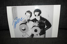 TUXEDOMOON Blaine L. Reininger signed 8x12 inch autographed Photo InPerson RARE
