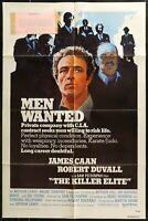 The Killer Elite James Caan ORIGINAL 1975 1 SHEET MOVIE POSTER 27 x 41