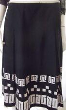 REGATTA Womens  A Line Black Skirt - Size 12