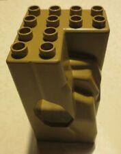 Lego Duplo Ersatzteile für Ritterburg - Felsen dark Tan,  4777, 4785,  4779