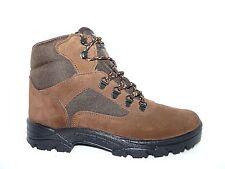 Chaussures de marche, randonnée, homme/femme trekking lacets CUIR marron.
