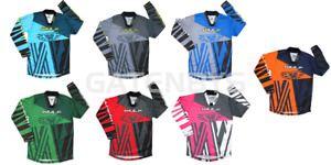 New Wulfsport Kids Motocross Shirt Jersey Youth Child Quad