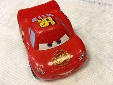 Disney Cars - Cars Crash Talking Lightning McQueen in very good condition
