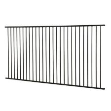 Pool fencing Black
