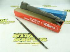 "BOX OF 12 NEW-OLD STOCK WILLIAMS 6"" FILES- TAPER X SLIM"