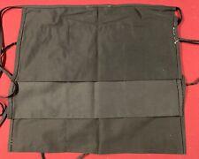 Black Waist Aprons 3 Pockets Lot Of 3