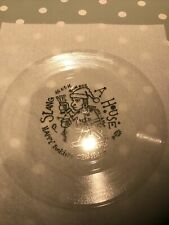 "A HOUSE Slang 7"" Clear Flexi MINT Setanta Records"