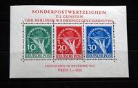 BERLIN Michel Block 1 postfrisch 950 Euro Katalogwert