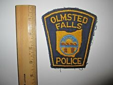 OLMSTED FALLS OHIO POLICE EMBROIDERED PATCH MINT UNUSED