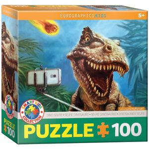 Eurographics 6100-5555 Dinosaurier Selfie 100 Teile Puzzle