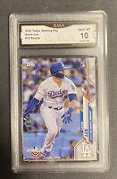 2020 Topps  Gavin Lux RC GMA PSA 10 Gem Mint Dodgers Top Prospect In MLB!!