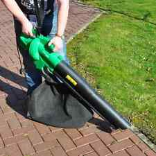 2600W KINGFISHER ELECTRIC POWER GARDEN BLOWER VACUUM 35LVAC BAG BLOW LEAF