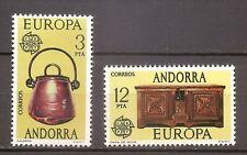 Spaans Andorra - 1976 - Mi. 101-02 (CEPT) - Postfris - KN587