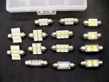 15x Cool White Interior Courtesy Dome Light Bulbs Festoons Lamps LEDs Kit Mopar