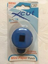 NEW & SEALED - XCUT MINI PAPER PUNCH - PATCHWORK SQUARE - BORDER SYSTEM
