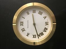 Tiffany table/shelf mantel clock
