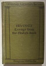 Irving's Essays From The Sketch Book by Washington Irving 1891 HC