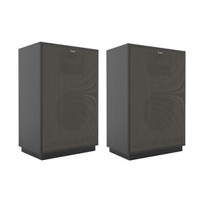 Klipsch Cornwall IV Floorstanding Speaker- Black (Pair)  **Open box**