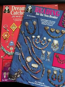 Jewelry Design Booklets - You Pick - Dream Catcher - Beading for the Non Beader