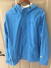 6356128dce Orage Mens Daffy Waterproof Blue Rain Shell Parka Jacket Large