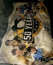 Pittsburgh penguin banner 50 years large