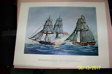 Special Edition Print for the US Revolution bicenntinel of the ship Lexington