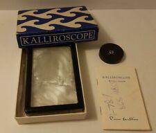 Paul Matisse Kalliroscope Pocket Viewer Model One, White, 1968 Box Set