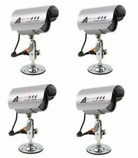 Astak 4x Wired Surveillance Cameras + 4x Cables + 4x Power Supply