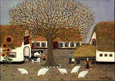 """Künstlerkarte """"Bauernhof in Schleswig-Holstein"""" von Maja Kunert Kunst-AK Art"""