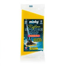 Minky Reflex Sponge Head Replacement Mop Easy Change Refill Easy Action Clean
