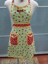 Kay Dee Designs Floral Pattern Kitchen Apron Open Size