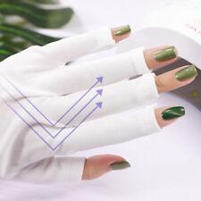 Nails Art & Tools 1pair Uv Protection Nail Art Uv Gel Anti-ultraviolet Open-toed Gloves