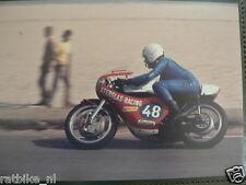 S0930-NICO VAN DE ZANDEN YAMAHA 250 CC HILVARENBEEK 1974 NO 48 PHOTO COLOR MOTO
