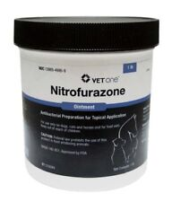 Nitrofuraozone Ointment Water-Soluble Antibacterial Ointement Horses Dogs 1lb