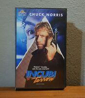 VHS film INCUBI DI TERRORE 1993 Chuck Norris MGM UA WIV 33052 no dvd