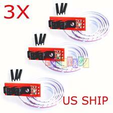 3 pcs Optical Endstop Switch for RepRap 3D Printer Prusa Mendel Ramps 1.4 or Cnc