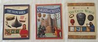 Viking World Knights & Castles Celtic World 3 History Paperbacks Classroom Lot