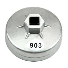 14 Flute Aluminum Oil Filter Wrench Socket Remover Tool 74mm Universal Durable,