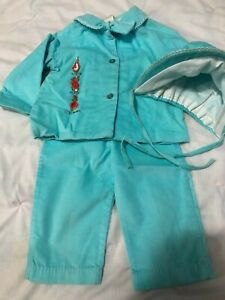 Vintage Baby Outfit: Flopsy, Mopsy, Cottontail - EUC