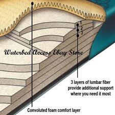Queen COMFORT SUPREME Waterbed Mattress w/ 12 Mil Liner, Heater & Conditioner