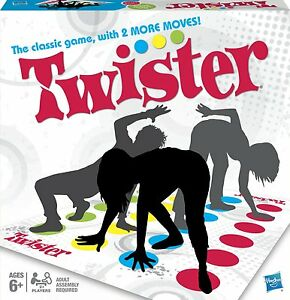 TWISTER CLASSIC GAMES Family Party Funny Board Dancing Moves Friends Gift Fun
