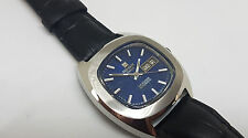 RARE TISSOT SEASTAR BLUE DIAL DAYDATE AUTOMATIC MAN'S WATCH