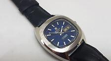 RARO Tissot Seastar Quadrante Blu daydate orologio automatico uomo