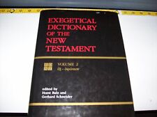"""""""Exegetical Dictionary of the New Testament"""" JEHOVAH  Watchtower Research"""