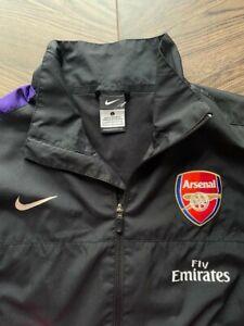 RETRO Nike Arsenal FC training jacket red size L warm up rain coat